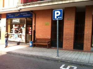 Banco en C/Menendez Pelayo,62