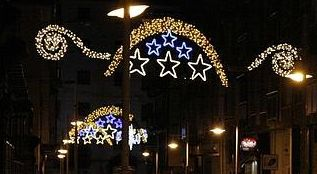 Luces de navidad Castro 2012