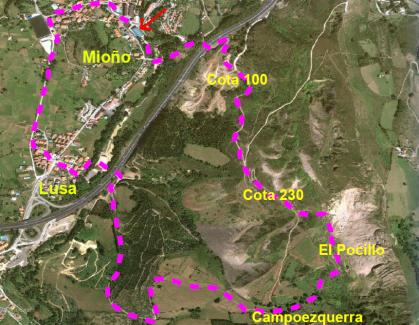 CastroVerde organiza una marcha popular a las minas de Dícido y el antiguo poblado de Campoezquerra