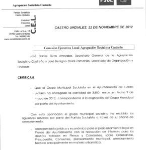 PSOE cursillos