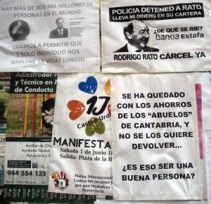 Protestas contra Liberbank