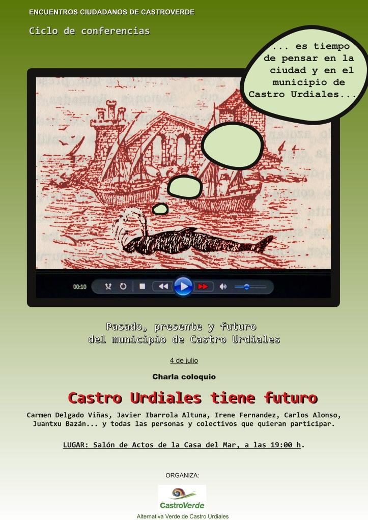 Castro tiene futuro cartel charla3