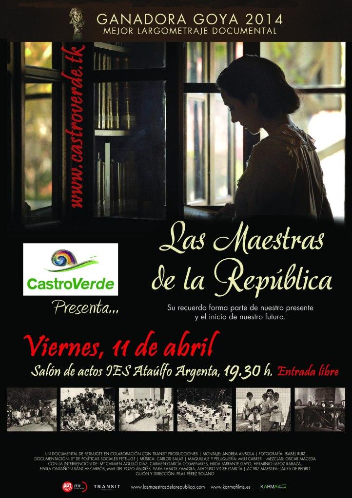 Cartel Maestras de la República_p