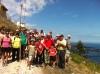 Unas 50 personas visitaron el monte Cueto conCastroVerde