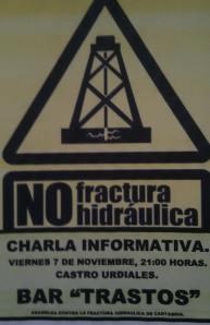 Charla Fracking 7 de noviembre