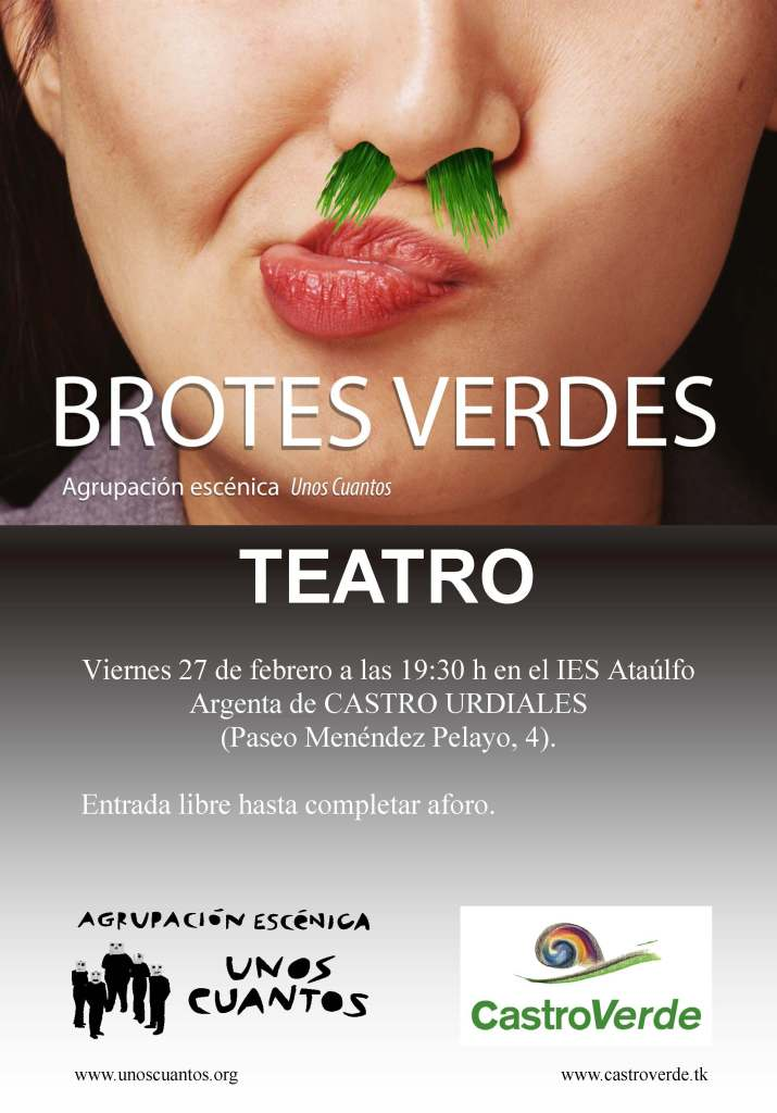 Brotes verdes. Cartel