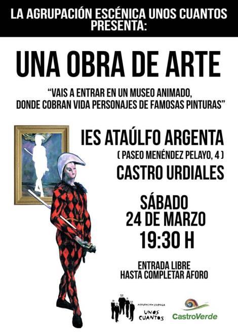"""Encuentros ciudadanos de CastroVerde: """"Una obra dearte"""""""