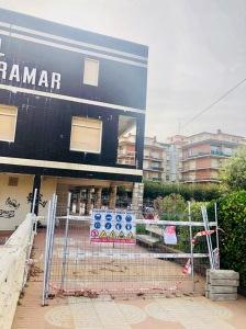 hotel Miramar paso cerrado