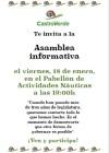 CastroVerde celebrará una asamblea informativa en la que abordará los proyectos realizados durante lalegislatura