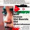 """Comunicado de condena del asesinato de la joven saharaui Sabah OtmanHameida """"Njourni""""por las fuerzas de ocupaciónmarroquíes."""